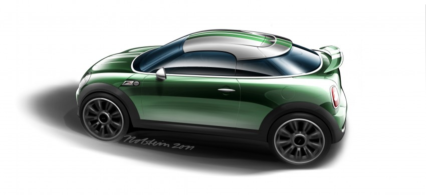 New MINI Coupe – production car details revealed! Image #66030