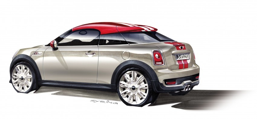 New MINI Coupe – production car details revealed! Image #66031