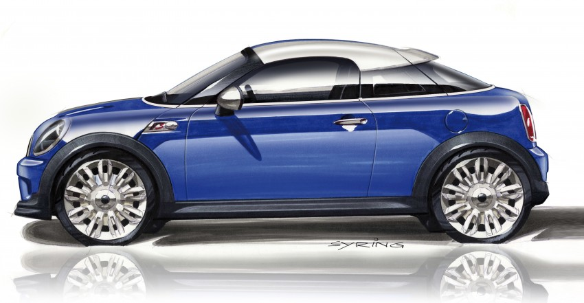 New MINI Coupe – production car details revealed! Image #66032