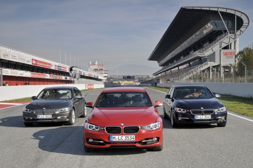BMW F30 3-Series Test Drive Review – 320d diesel and new four cylinder turbo 328i sampled in Spain! Image #86086