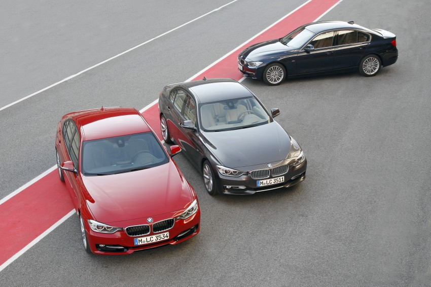 DRIVEN: BMW F30 3 Series – 320d diesel and new four-cylinder turbo 328i sampled in Spain! Image #86087