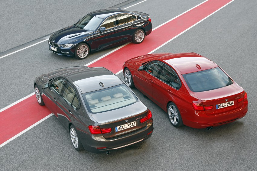 BMW F30 3-Series Test Drive Review – 320d diesel and new four cylinder turbo 328i sampled in Spain! Image #86088