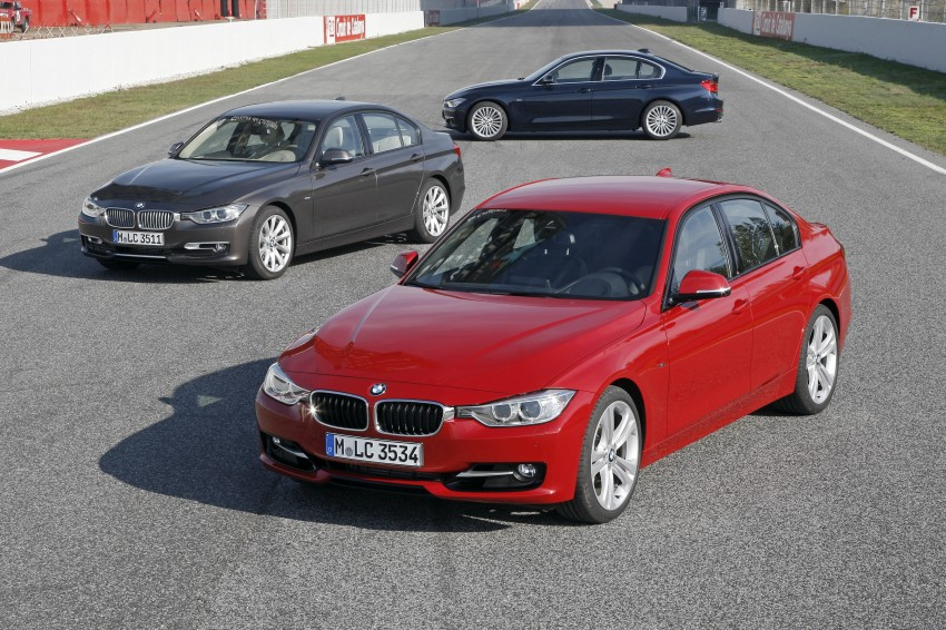 DRIVEN: BMW F30 3 Series – 320d diesel and new four-cylinder turbo 328i sampled in Spain! Image #86089