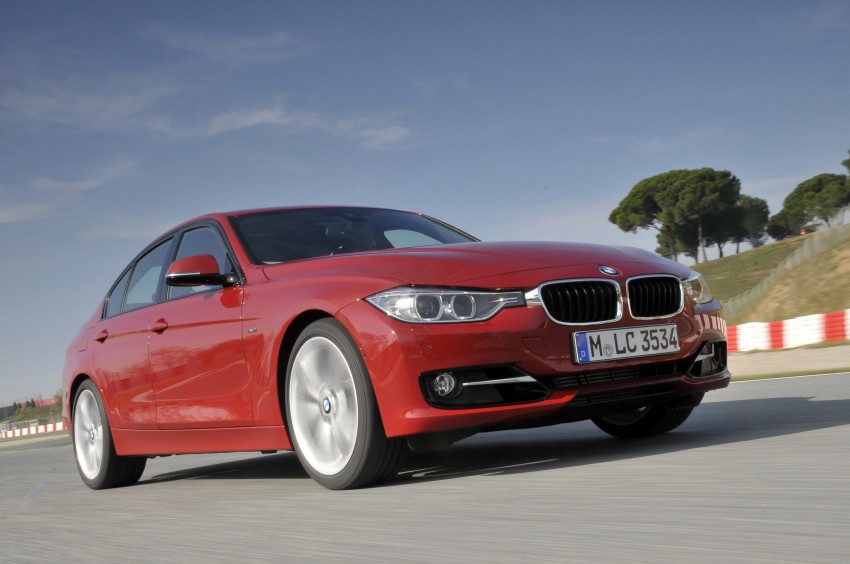 DRIVEN: BMW F30 3 Series – 320d diesel and new four-cylinder turbo 328i sampled in Spain! Image #86119