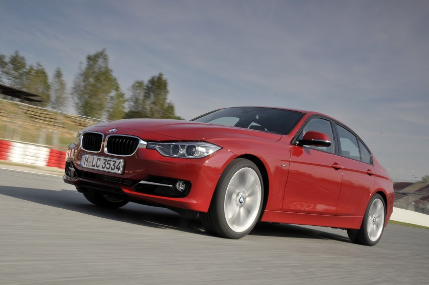 DRIVEN: BMW F30 3 Series – 320d diesel and new four-cylinder turbo 328i sampled in Spain! Image #86116
