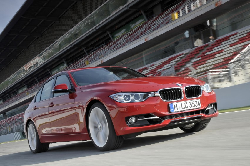 BMW F30 3-Series Test Drive Review – 320d diesel and new four cylinder turbo 328i sampled in Spain! Image #86111