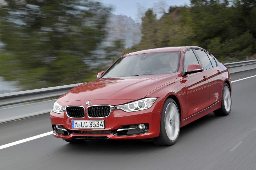 DRIVEN: BMW F30 3 Series – 320d diesel and new four-cylinder turbo 328i sampled in Spain! Image #86118