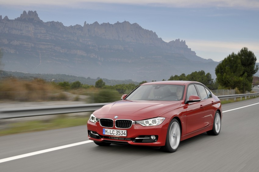 DRIVEN: BMW F30 3 Series – 320d diesel and new four-cylinder turbo 328i sampled in Spain! Image #86129