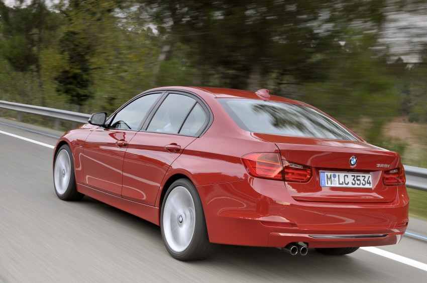 DRIVEN: BMW F30 3 Series – 320d diesel and new four-cylinder turbo 328i sampled in Spain! Image #86105