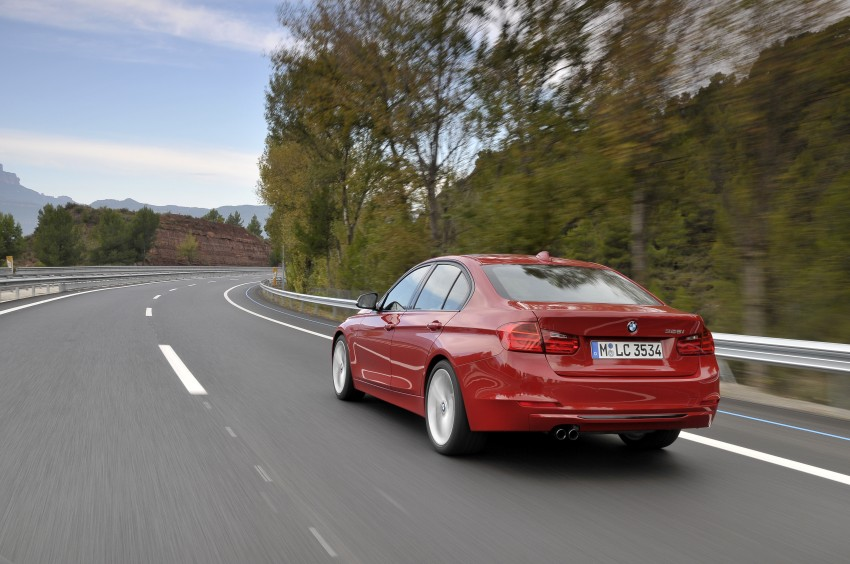 DRIVEN: BMW F30 3 Series – 320d diesel and new four-cylinder turbo 328i sampled in Spain! Image #86094