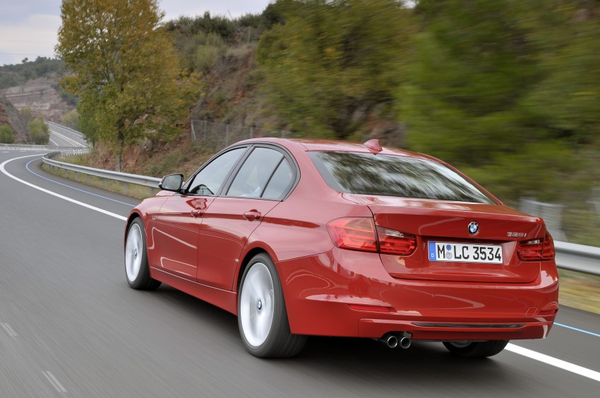 DRIVEN: BMW F30 3 Series – 320d diesel and new four-cylinder turbo 328i sampled in Spain! Image #86104