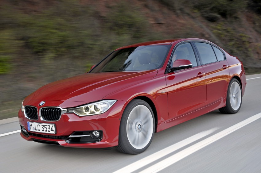 BMW F30 3-Series Test Drive Review – 320d diesel and new four cylinder turbo 328i sampled in Spain! Image #86114