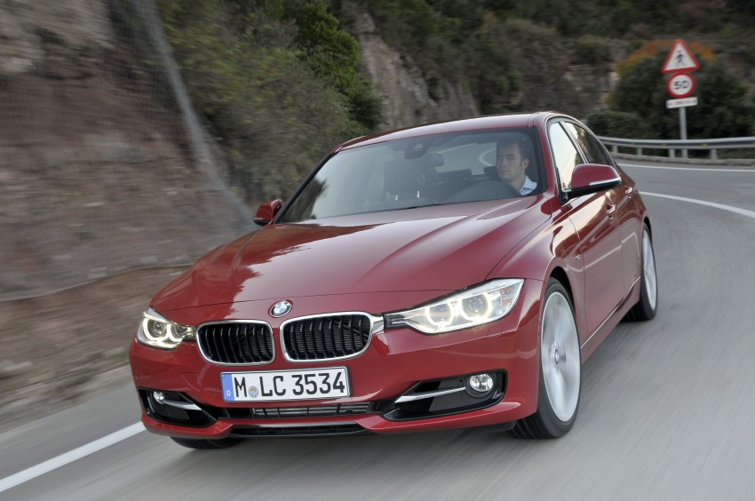 DRIVEN: BMW F30 3 Series – 320d diesel and new four-cylinder turbo 328i sampled in Spain! Image #86115