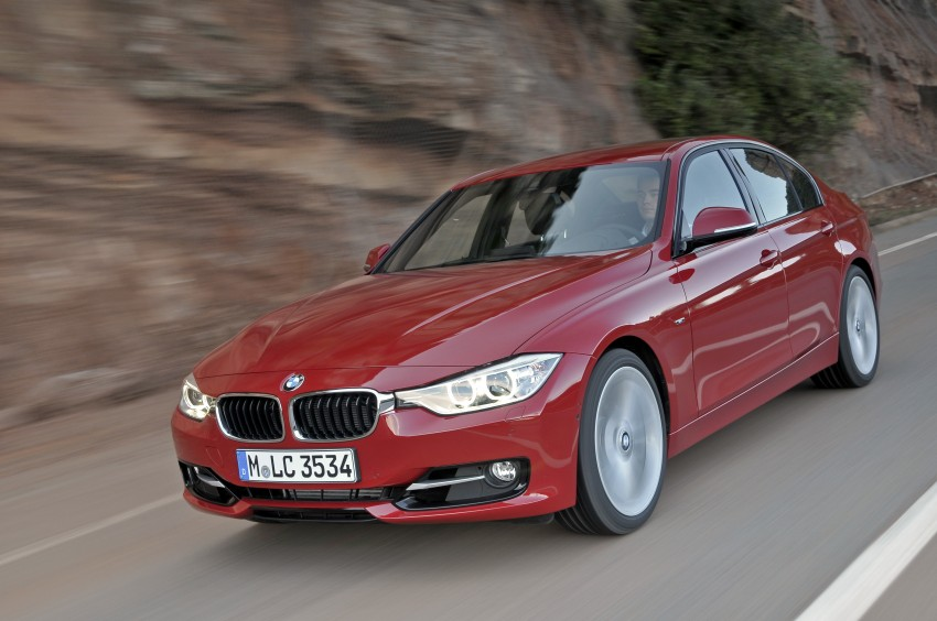 BMW F30 3-Series Test Drive Review – 320d diesel and new four cylinder turbo 328i sampled in Spain! Image #86121