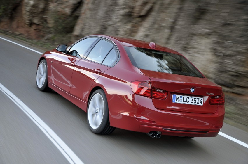 DRIVEN: BMW F30 3 Series – 320d diesel and new four-cylinder turbo 328i sampled in Spain! Image #86097