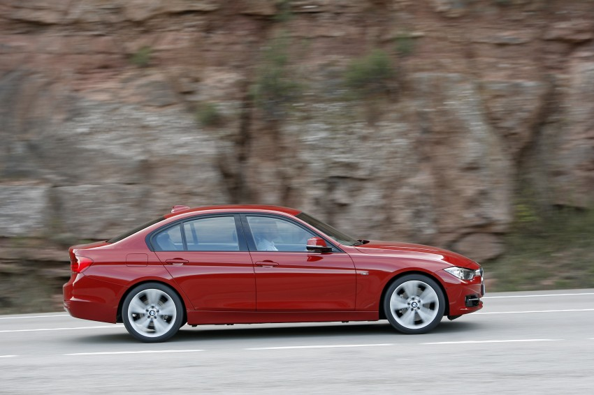 DRIVEN: BMW F30 3 Series – 320d diesel and new four-cylinder turbo 328i sampled in Spain! Image #86153