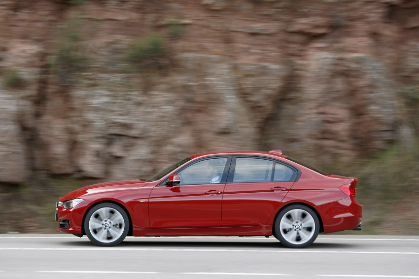 BMW F30 3-Series Test Drive Review – 320d diesel and new four cylinder turbo 328i sampled in Spain! Image #86156