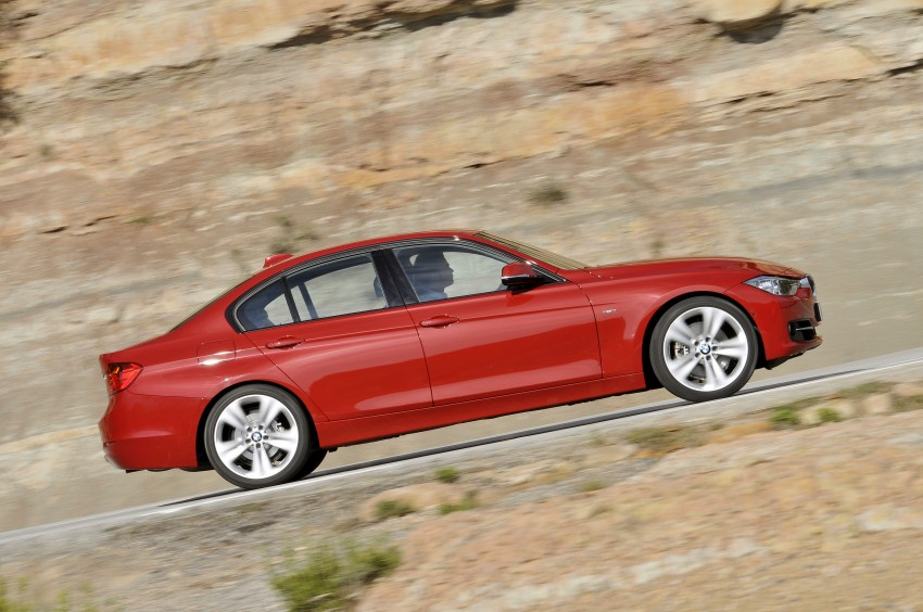BMW F30 3-Series Test Drive Review – 320d diesel and new four cylinder turbo 328i sampled in Spain! Image #86123