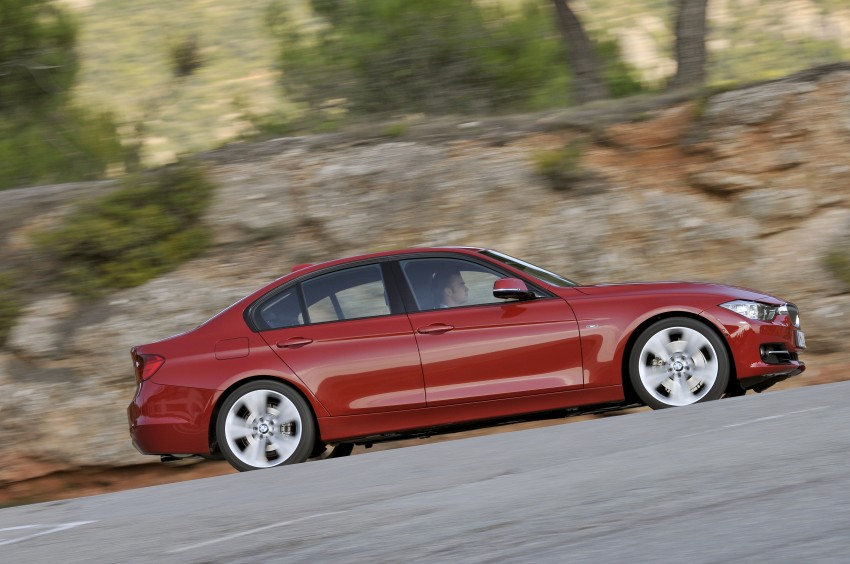 DRIVEN: BMW F30 3 Series – 320d diesel and new four-cylinder turbo 328i sampled in Spain! Image #86122
