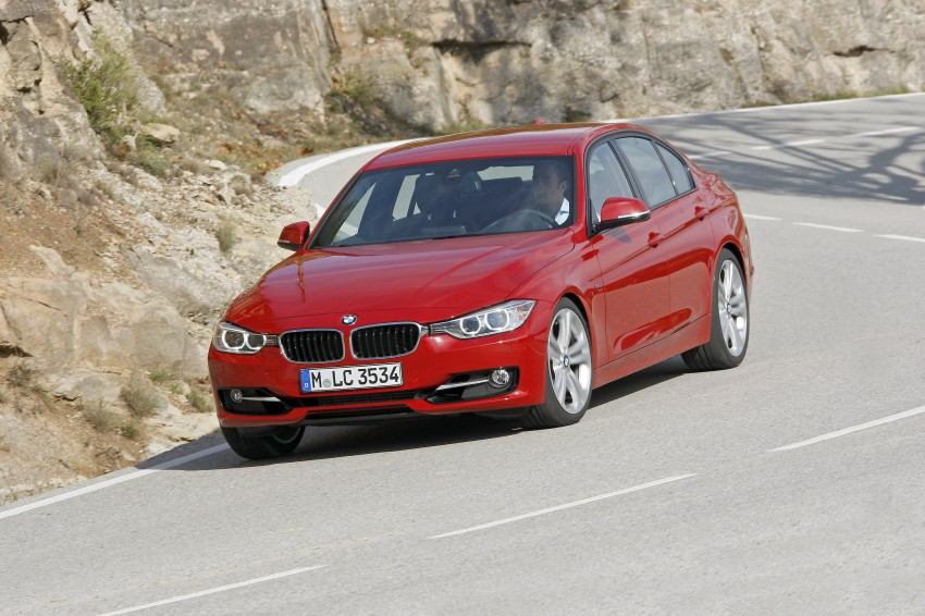 DRIVEN: BMW F30 3 Series – 320d diesel and new four-cylinder turbo 328i sampled in Spain! Image #86132