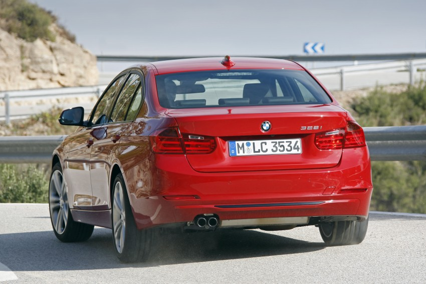 DRIVEN: BMW F30 3 Series – 320d diesel and new four-cylinder turbo 328i sampled in Spain! Image #86137