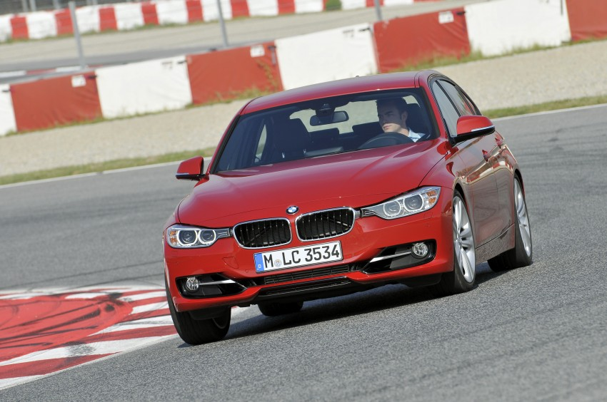 DRIVEN: BMW F30 3 Series – 320d diesel and new four-cylinder turbo 328i sampled in Spain! Image #86128