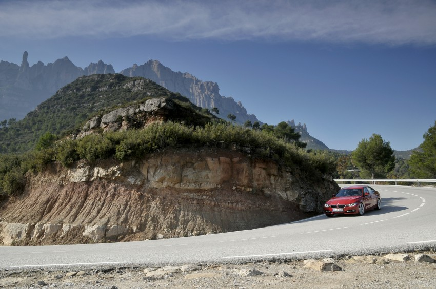 DRIVEN: BMW F30 3 Series – 320d diesel and new four-cylinder turbo 328i sampled in Spain! Image #86090