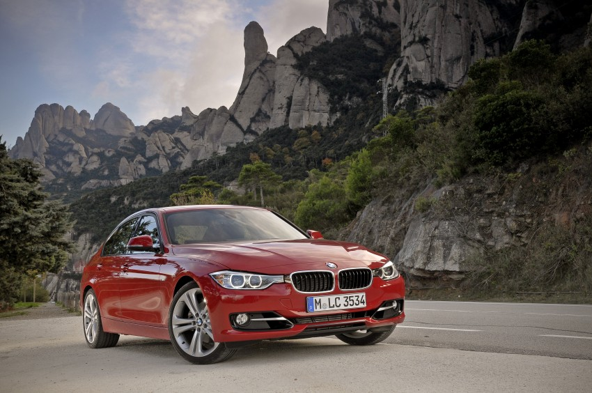DRIVEN: BMW F30 3 Series – 320d diesel and new four-cylinder turbo 328i sampled in Spain! Image #86092