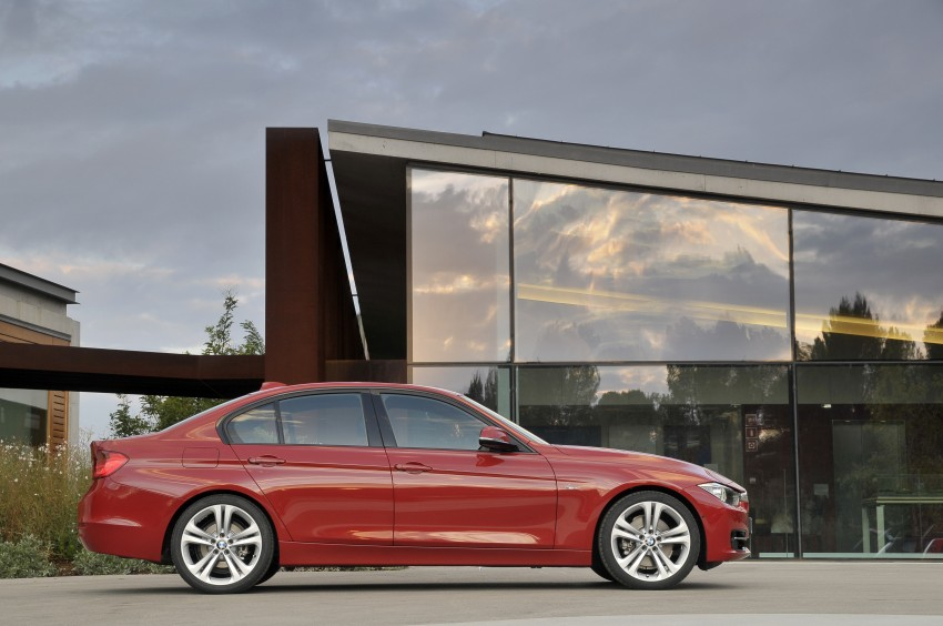 DRIVEN: BMW F30 3 Series – 320d diesel and new four-cylinder turbo 328i sampled in Spain! Image #86124