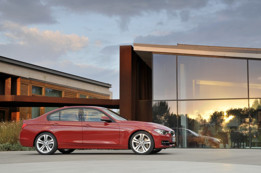 DRIVEN: BMW F30 3 Series – 320d diesel and new four-cylinder turbo 328i sampled in Spain! Image #86126