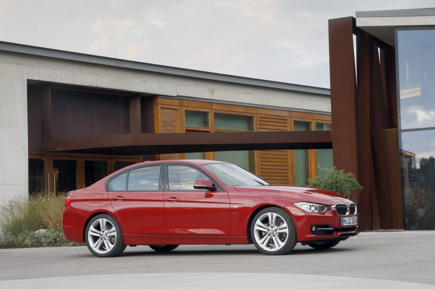 BMW F30 3-Series Test Drive Review – 320d diesel and new four cylinder turbo 328i sampled in Spain! Image #86152