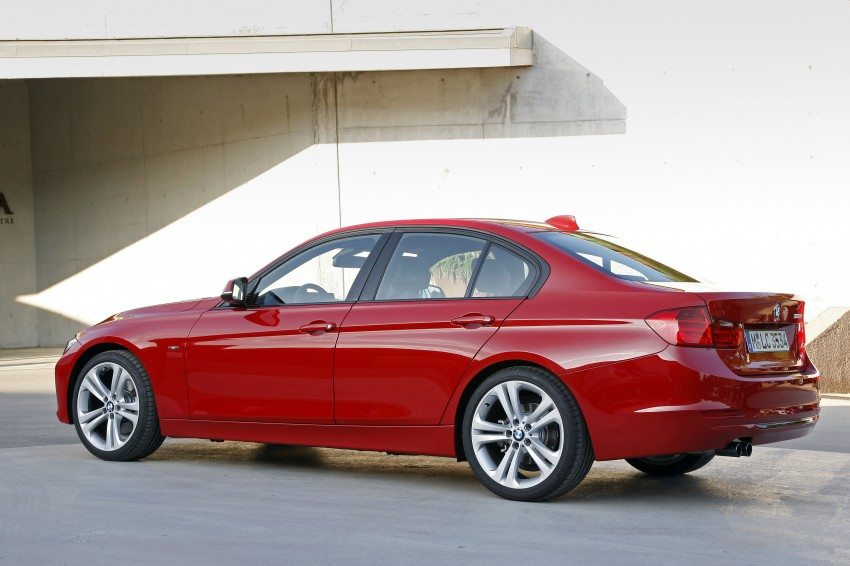 BMW F30 3-Series Test Drive Review – 320d diesel and new four cylinder turbo 328i sampled in Spain! Image #86151