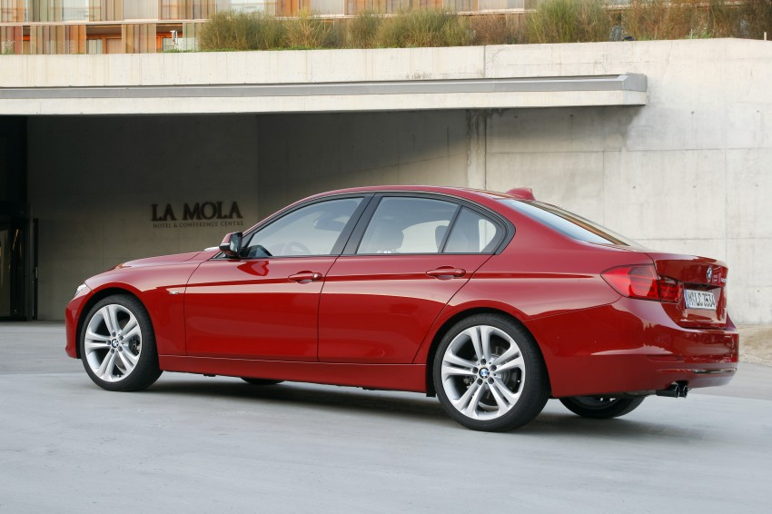 DRIVEN: BMW F30 3 Series – 320d diesel and new four-cylinder turbo 328i sampled in Spain! Image #86148