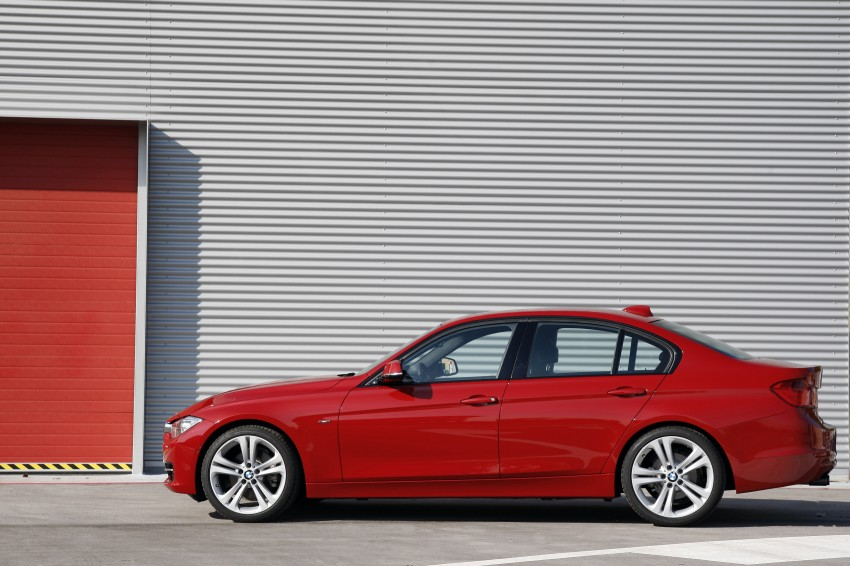DRIVEN: BMW F30 3 Series – 320d diesel and new four-cylinder turbo 328i sampled in Spain! Image #86150