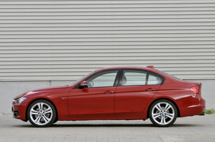 DRIVEN: BMW F30 3 Series – 320d diesel and new four-cylinder turbo 328i sampled in Spain! Image #86138