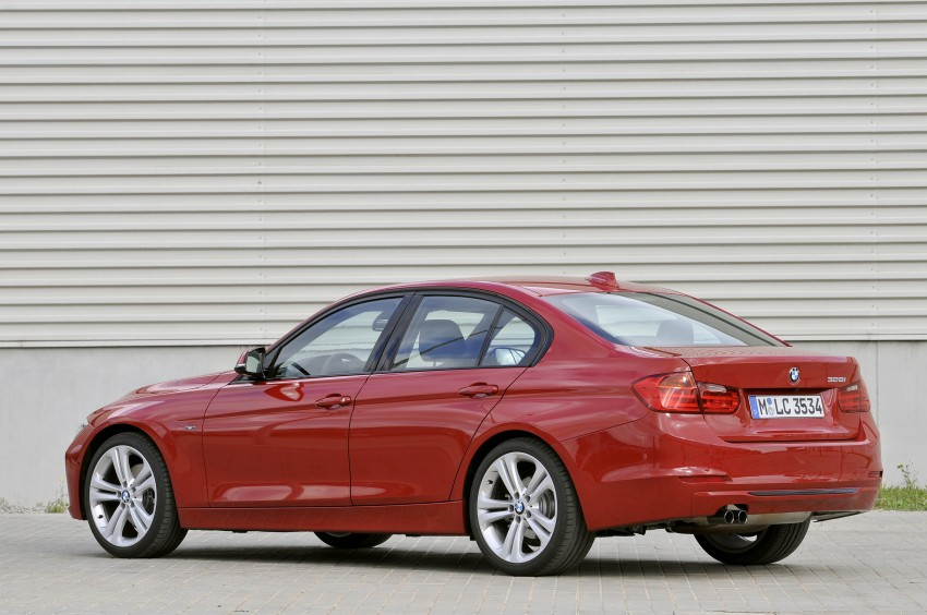 BMW F30 3-Series Test Drive Review – 320d diesel and new four cylinder turbo 328i sampled in Spain! Image #86133