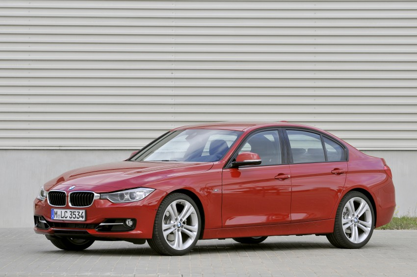 DRIVEN: BMW F30 3 Series – 320d diesel and new four-cylinder turbo 328i sampled in Spain! Image #86134