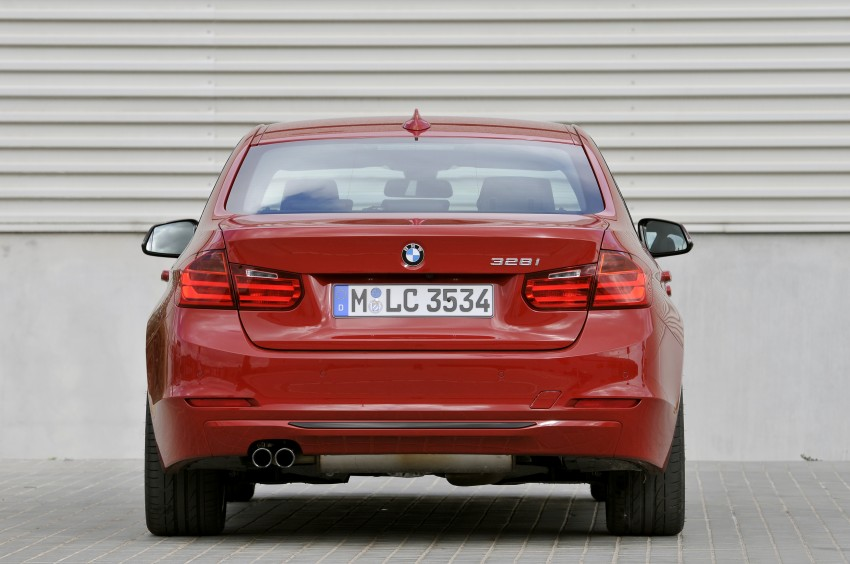 DRIVEN: BMW F30 3 Series – 320d diesel and new four-cylinder turbo 328i sampled in Spain! Image #86141