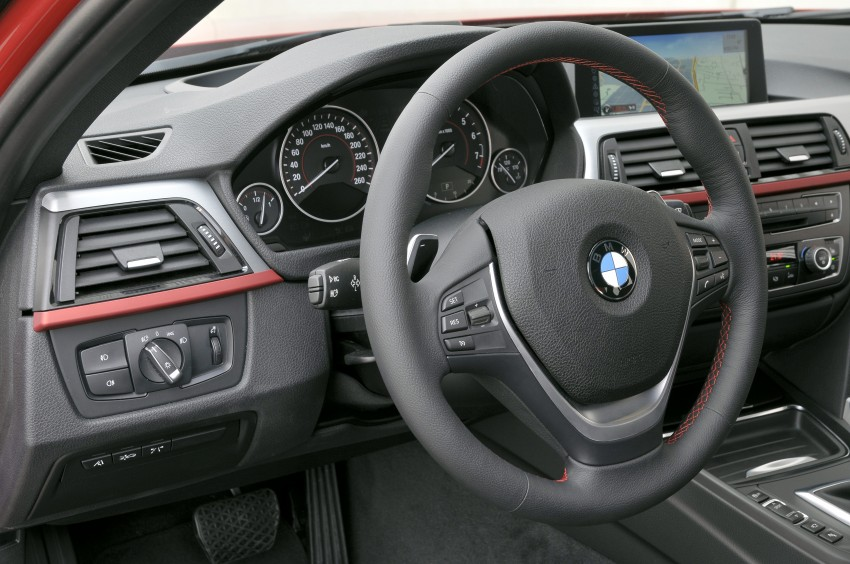 DRIVEN: BMW F30 3 Series – 320d diesel and new four-cylinder turbo 328i sampled in Spain! Image #86103