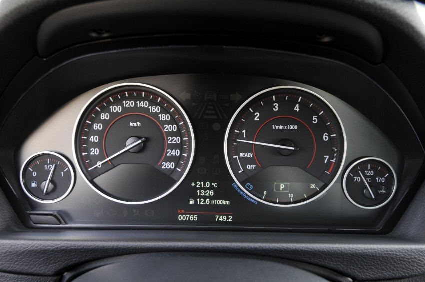 DRIVEN: BMW F30 3 Series – 320d diesel and new four-cylinder turbo 328i sampled in Spain! Image #86136