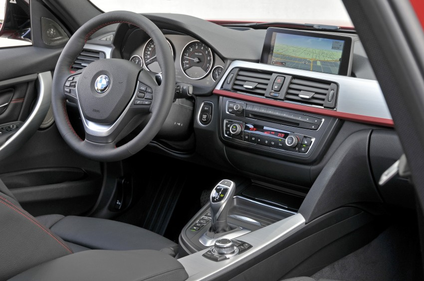 BMW F30 3-Series Test Drive Review – 320d diesel and new four cylinder turbo 328i sampled in Spain! Image #86100
