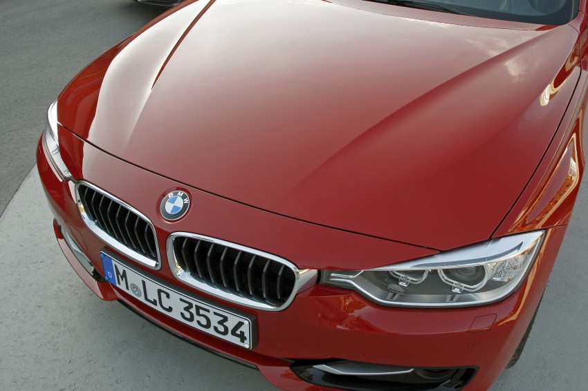 DRIVEN: BMW F30 3 Series – 320d diesel and new four-cylinder turbo 328i sampled in Spain! Image #86146