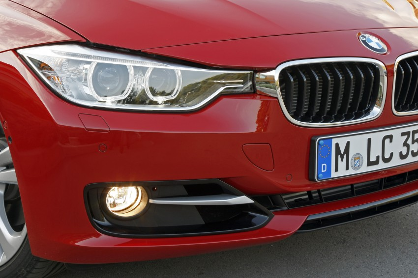 DRIVEN: BMW F30 3 Series – 320d diesel and new four-cylinder turbo 328i sampled in Spain! Image #86144