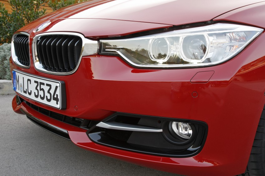 DRIVEN: BMW F30 3 Series – 320d diesel and new four-cylinder turbo 328i sampled in Spain! Image #86143