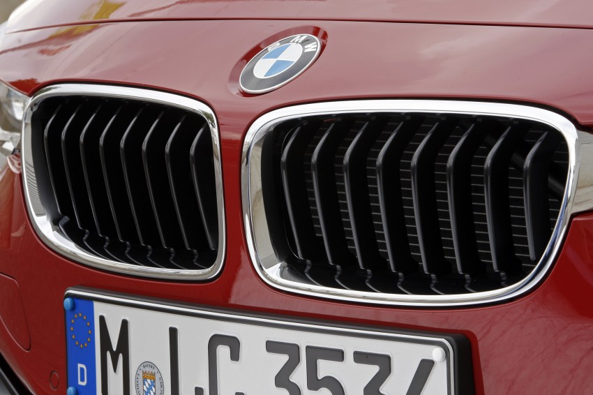 BMW F30 3-Series Test Drive Review – 320d diesel and new four cylinder turbo 328i sampled in Spain! Image #86155
