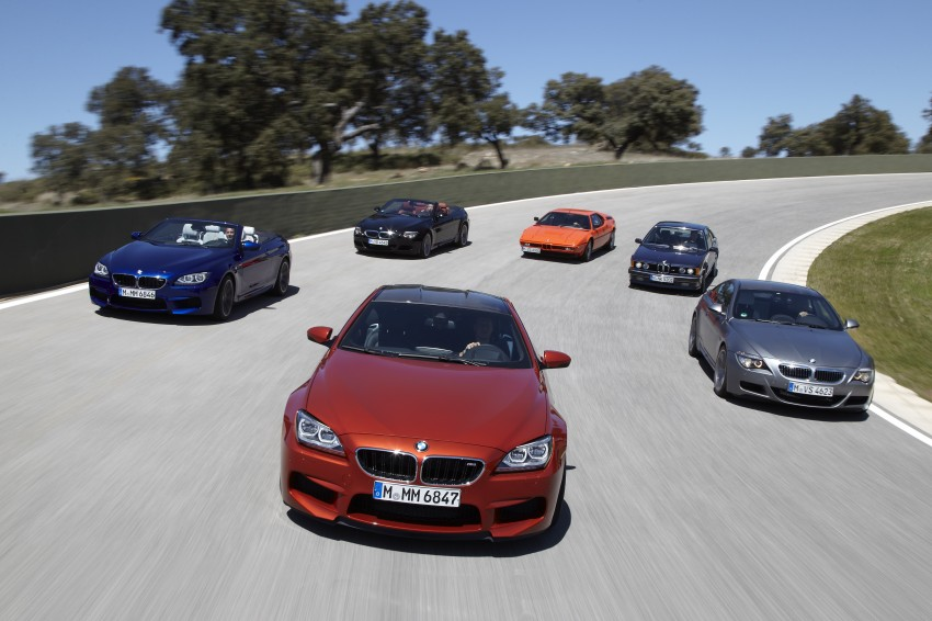 BMW M6 Coupe and Convertible – new photos Image #114240