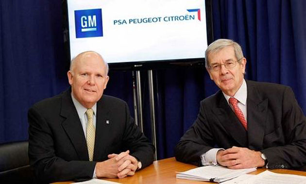 GM and Peugeot Citroen to co-develop four vehicles Image #138102