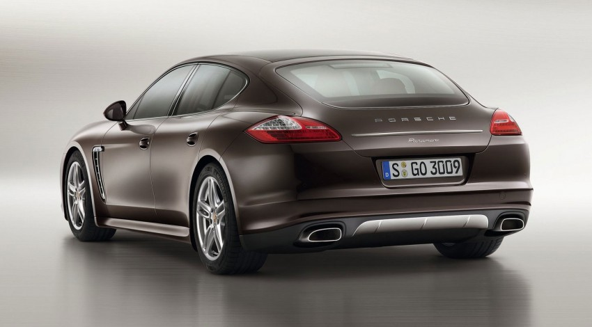 Porsche Panamera Platinum Edition – subtle shiny bits for the Panamera 4 and Panamera Diesel Image #136978