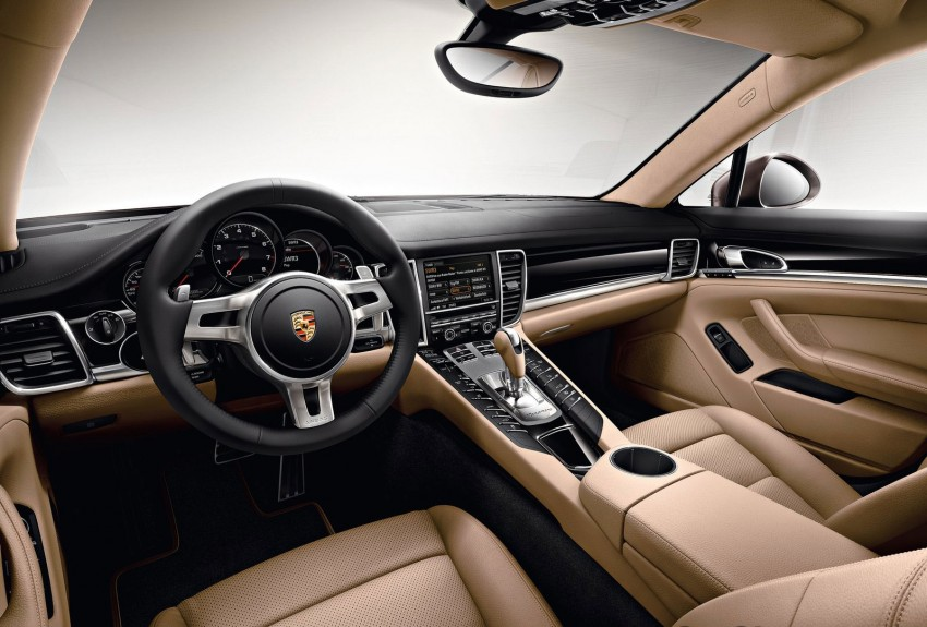 Porsche Panamera Platinum Edition – subtle shiny bits for the Panamera 4 and Panamera Diesel Image #136980