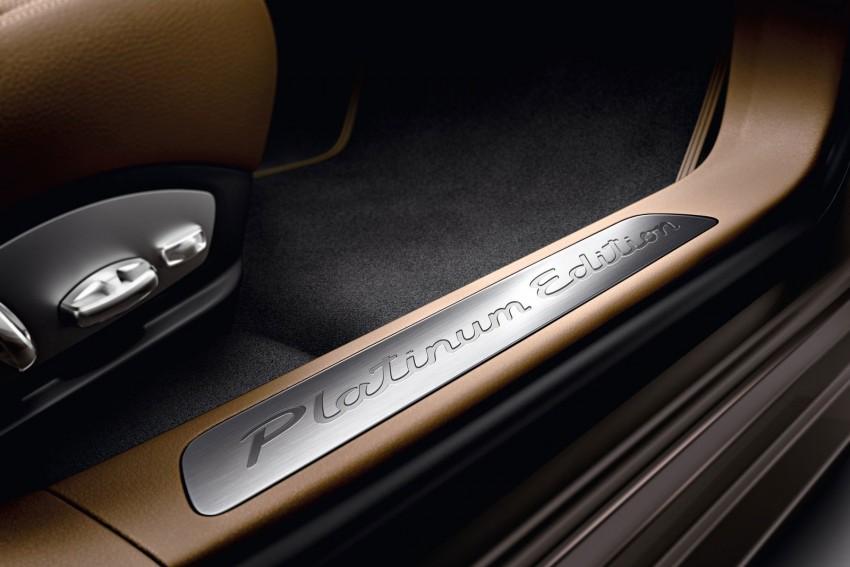 Porsche Panamera Platinum Edition – subtle shiny bits for the Panamera 4 and Panamera Diesel Image #136981